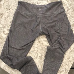 Lululemon Mid-Rise Grey Leggings
